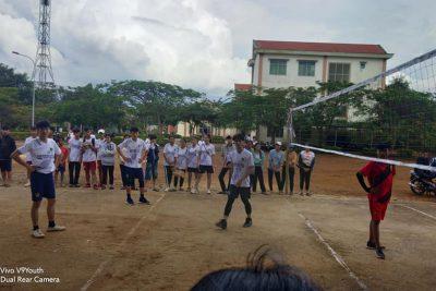 Tổ chức giải bóng chuyền nam- nữ chào mừng ngày Nhà giáo Việt Nam 20/11/2020