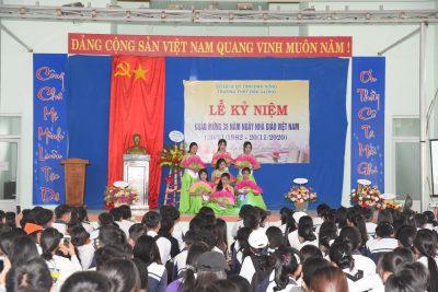 Lễ kỷ niệm 38 năm ngày nhà giáo Việt Nam 20/11/1982- 20/11/2020