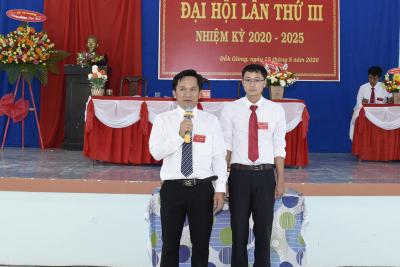 Chi bộ trường THPT Đăk Glong tổ chức Đại hội lần thứ III, nhiệm kỳ 2020-2025